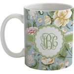 Vintage Floral Coffee Mug (Personalized)