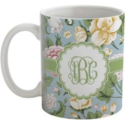 Vintage Floral Coffee Mug (Personalized)