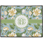 Vintage Floral Door Mat (Personalized)