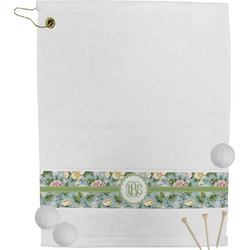 Vintage Floral Golf Towel (Personalized)