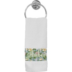 Vintage Floral Hand Towel (Personalized)