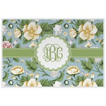 Vintage Floral Placemat (Laminated) (Personalized)