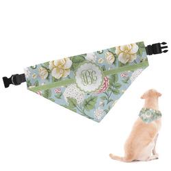 Vintage Floral Dog Bandana (Personalized)