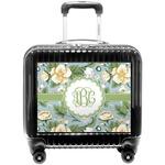 Vintage Floral Pilot / Flight Suitcase (Personalized)