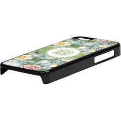 Vintage Floral Plastic iPhone 5C Phone Case (Personalized)