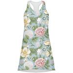 Vintage Floral Racerback Dress (Personalized)