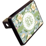 """Vintage Floral Rectangular Trailer Hitch Cover - 2"""" (Personalized)"""