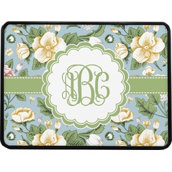 Vintage Floral Rectangular Trailer Hitch Cover (Personalized)