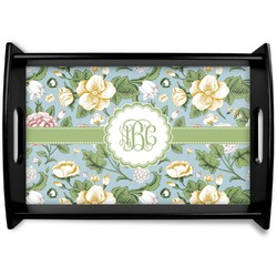 Vintage Floral Wooden Trays (Personalized)