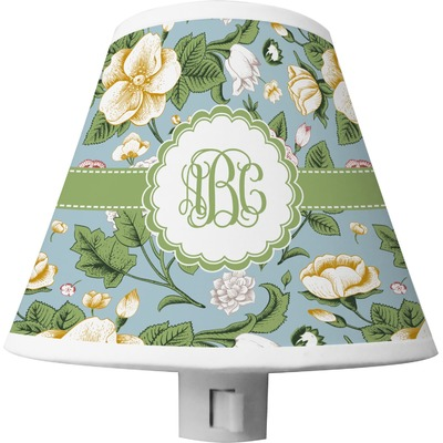 Vintage Floral Shade Night Light (Personalized)