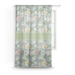 Vintage Floral Sheer Curtains (Personalized)