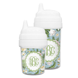 Vintage Floral Sippy Cup (Personalized)