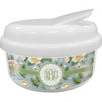 Vintage Floral Snack Container (Personalized)