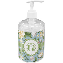 Vintage Floral Soap / Lotion Dispenser (Personalized)