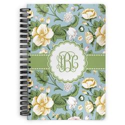 Vintage Floral Spiral Notebook (Personalized)