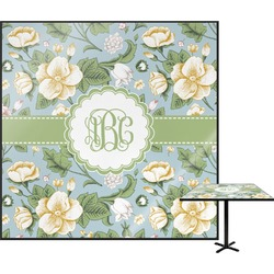 Vintage Floral Square Table Top (Personalized)