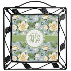 Vintage Floral Trivet (Personalized)