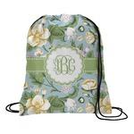 Vintage Floral Drawstring Backpack (Personalized)