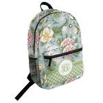 Vintage Floral Student Backpack (Personalized)
