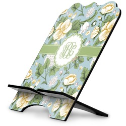 Vintage Floral Stylized Tablet Stand (Personalized)