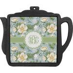 Vintage Floral Teapot Trivet (Personalized)