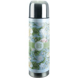 Vintage Floral Stainless Steel Thermos (Personalized)