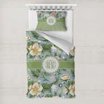 Vintage Floral Toddler Bedding w/ Monogram
