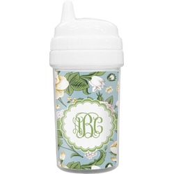 Vintage Floral Toddler Sippy Cup (Personalized)
