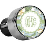 Vintage Floral USB Car Charger (Personalized)
