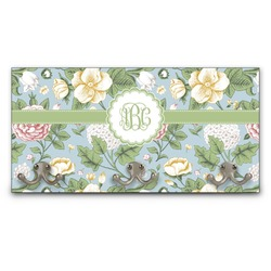 Vintage Floral Wall Mounted Coat Rack (Personalized)