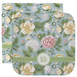 Vintage Floral Facecloth / Wash Cloth (Personalized)