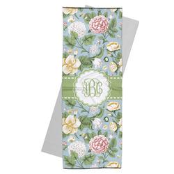 Vintage Floral Yoga Mat Towel (Personalized)