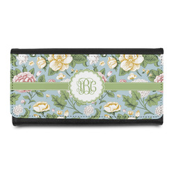 Vintage Floral Leatherette Ladies Wallet (Personalized)