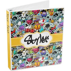 Graffiti 3-Ring Binder (Personalized)