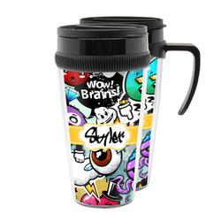 Graffiti Acrylic Travel Mugs (Personalized)