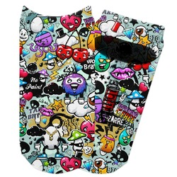 Graffiti Adult Ankle Socks (Personalized)