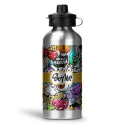 Graffiti Water Bottle - Aluminum - 20 oz (Personalized)
