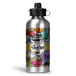 Graffiti Water Bottle - Aluminum - 20 oz (Personalized)