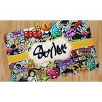 "Graffiti Area Rug - 2'6""x4' (Personalized)"