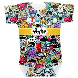 Graffiti Baby Bodysuit (Personalized)
