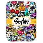Graffiti Baby Swaddling Blanket (Personalized)