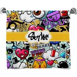 Graffiti Bath Towel (Personalized)