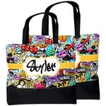Graffiti Beach Tote Bag (Personalized)