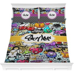 Graffiti Comforter Set (Personalized)