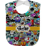 Graffiti Baby Bib (Personalized)