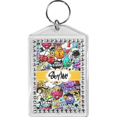 Graffiti Bling Keychain (Personalized)