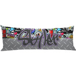 Graffiti Body Pillow Case (Personalized)
