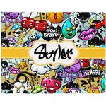 Graffiti Placemat (Fabric) (Personalized)