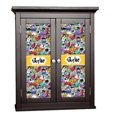 Graffiti Cabinet Decal - Custom Size (Personalized)