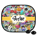 Graffiti Car Side Window Sun Shade (Personalized)